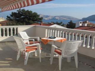 Apartment with Beautiful sea view, Baska