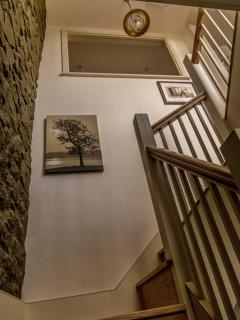 Stair case to Living area