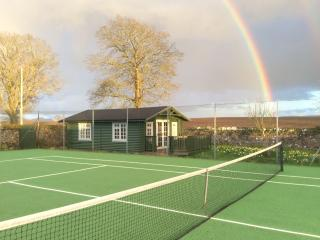 Rainbow over Garden Studio