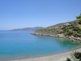 One of the near beaches (Delphinia beach)