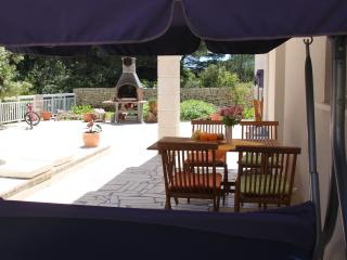 Quiet, modern, large terrace-apartment Blue, Korcula Town