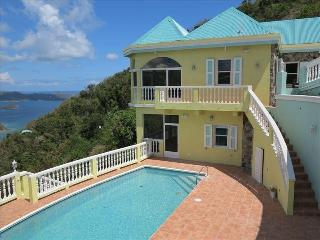 Almost Heaven at Coral Bay, St. John - Ocean View, Pool and Hot Tub