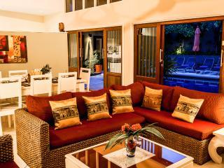 Serene setting at the villa