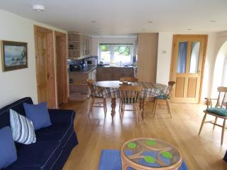 The Living Room And Kitchen Area