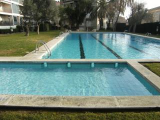 Apto playa, piscina y jardin, Calella