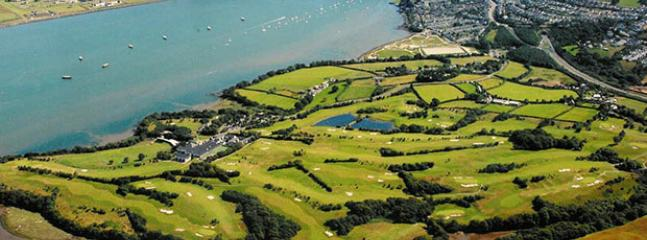 China Fleet golf course beside the Tamar Estuary