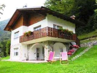"""Casa Civettini""""A""""Villetta bifamiliare  100 mt Lago, Ledro"""