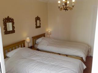 bright and spacious twin room