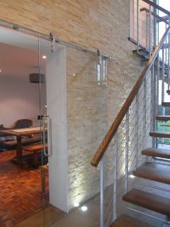 New Staircase/feature wall