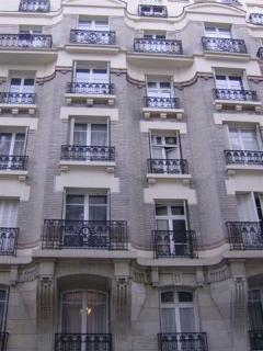 A street view in Paris - I just love the architecture