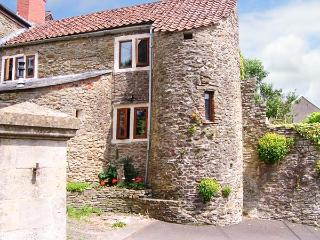 THE TURRETS, unusual Grade II listed cottage with turret, character, Holcombe