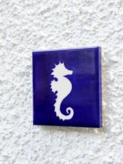 Seahorse emblem