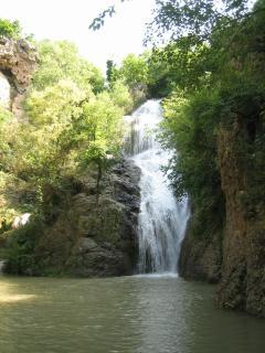 Hotnitsa waterfalls, on the ECO Trail from Momin-sbore to Hotnitsa.