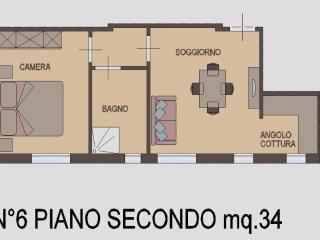 Appartamento Bilocale 2° piano, Rimini
