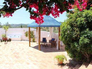 Enjoy the sun or the shade on the pool terrace