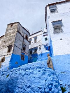 Chefchaouen in the Riff mountains. Well worth trip, we go there on each visit as it is so beautiful
