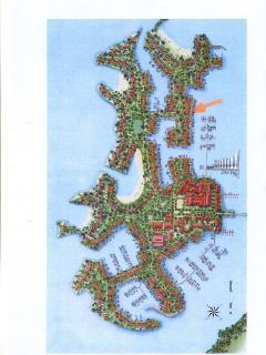 Eden Island Map - Apartment Location (Orange Marker)