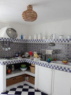 Cucina - vista dall'ingresso