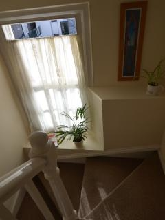 Lovely traditional features of the apartment on the Barbican.