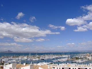 penthouse overlooking marina