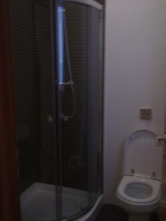 Shower ensuite with main bedroom