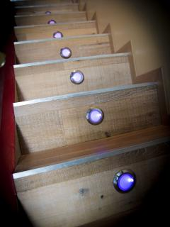 Escalier cabanon pointe rouge