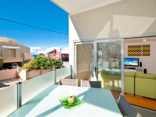 Middle level balcony, with views across to the beach and Northcliffe Surf Club