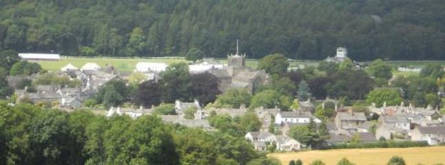 View of Cartmel