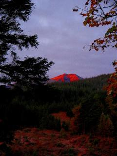 Ben Lui, early morning.