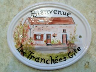 Les Tranchees Gite; A tranquil, comfortable home from home.