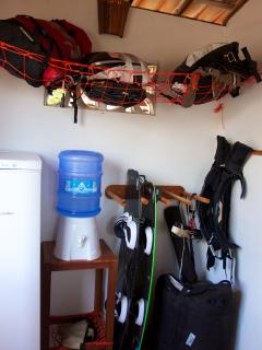 Storage for kites and other equipment