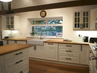 Large open plan kitchen to seat 11