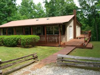 1500 sf cabin sitting on 5 beautiful, private ac