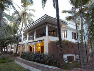 A stunning two-storey, five-bedroom villa home in Candolim
