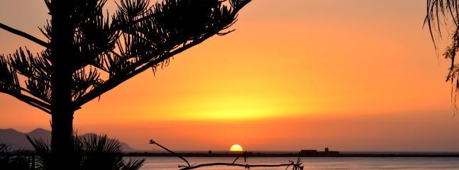 Sunset From Villa Birgi