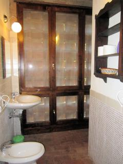 Il bagno della camera 4