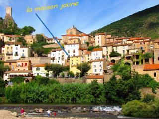 La Maison Jaune, Roquebrun