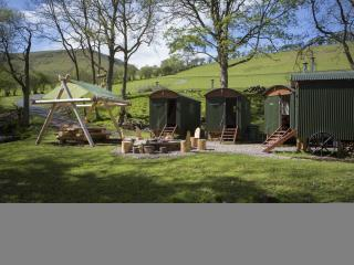The Huts in the Hills, Hay-on-Wye