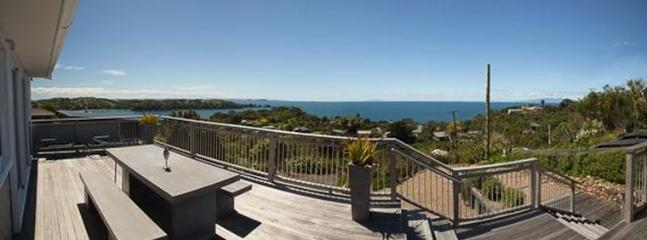 View from Oneroa holiday house