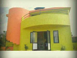 Riverside lavish 3 BHK bungalow with pool