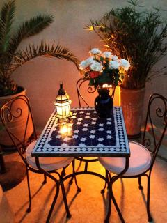 table for 2 on the TERRACE