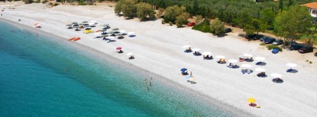 Ritsameer Beach (in Kardamyli Village - 11.2 km)