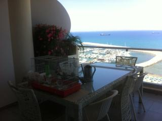 The triplex penthouse on Finikoudes beach, Larnaka City
