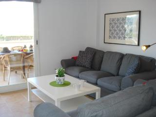 You will find the comfortable lounge also has SMART TV and doors leading to the lovely terrace area