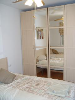 Twin Bedroom with two Double Wardrobles