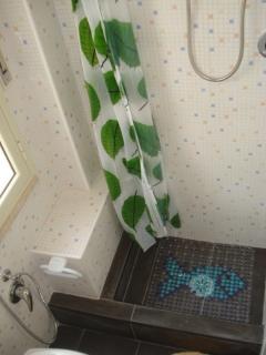 bagno piano terra, doccia