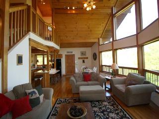 Appalachian Adventure blue ribbon cabin near the New River