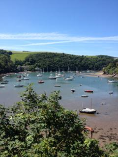 The beautiful River Yealm Estuary