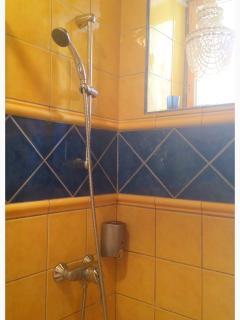 Modern bathroom with Italian tiles