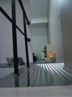 passage between 2 rooms